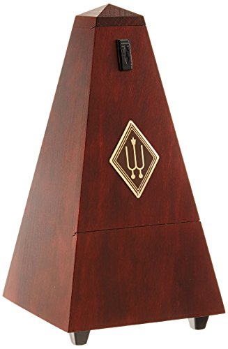 Wittner wooden metronome with bell 811M mahogany finish