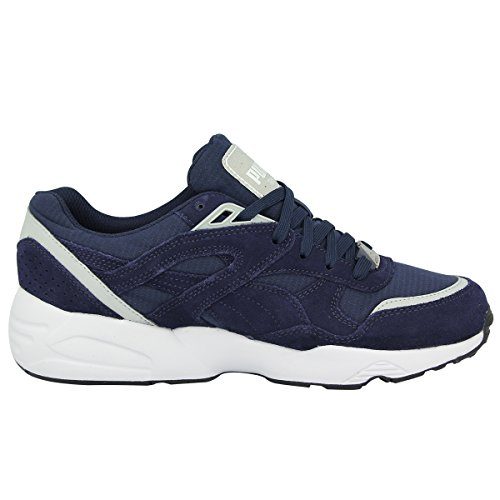 Puma R698 CORE Blau Herren Sneakers Schuhe Neu Trinomic