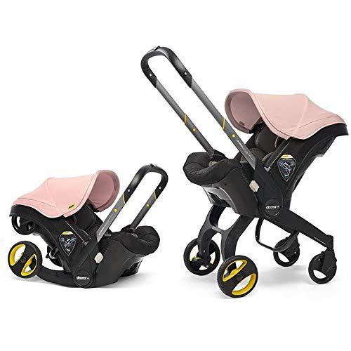 Doona Infant Car Seat & Latch Base - Blush Pink - US Version