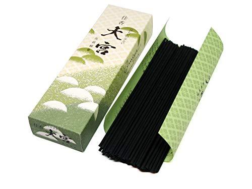 - Gyokushodo Japanese Hinoki Incense Sticks Kako Omiya - Less Smoke Type - Medium Pack - 5.5 inches 94 Sticks - Made in Japan