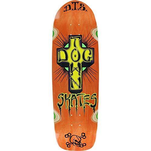 Dogtown Pool Big Boy Skateboard Deck -9.37x32.67 Orange Stain - Assembled AS Complete Skateboard