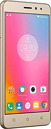 Lenovo K6 Power  Gold, 32 GB, 3 GB RAM  Smartphones