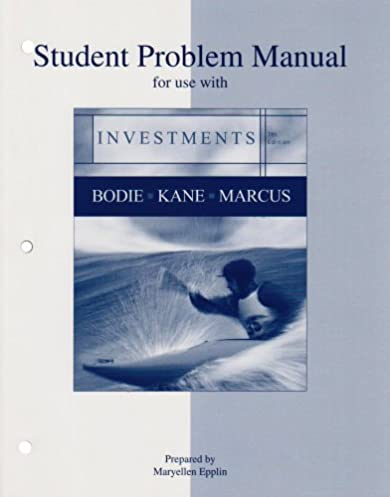 amazon com student problem manual for use with investments rh amazon com LDS New Testament Student Manual NHTSA Student Manual