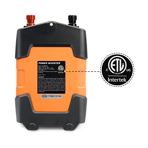 Ampeak 400W Power Inverter DC 12V to 110V AC Car Inverter with 3.1A Dual USB Converter by Ampeak (Image #7)