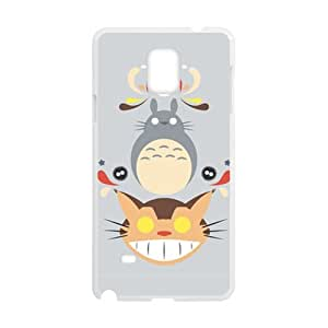 customize Cute And Cat stares Hot Seller Stylish Hard Case longest For Samsung Galaxy Note4 in TOOT0 Case