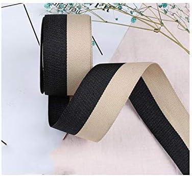 Cinta de satén de sarga de 2 colores, 40 mm, 25 mm, 15 mm, hecha a mano, cinta de algodón con lazo, 5 m: Amazon.es: Juguetes y juegos