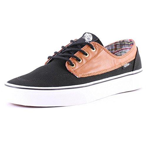 Adulto Brigata Vans Sneaker Unisex Nero qFtvnwH7