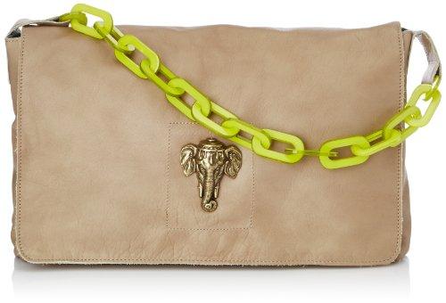 Sous les Pavés Mai Tai, Borsa a tracolla donna, color Beige (Beige/Anse Jaune/Elephant), talla unica
