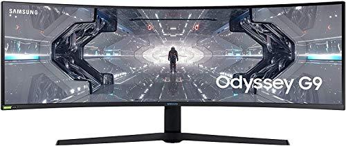 "Samsung LC49G93TSSRXEN Odyssey G9 – Monitor curvo de 49"" DQHD (5120 x 1440p, 1 ms, 240 Hz, GSync, FreeSync Premium Pro…"