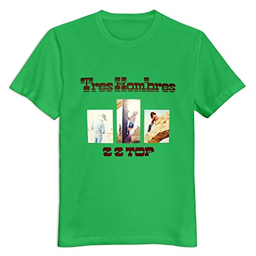 soulya-mens-zz-top-tres-hombres-music-o-neck-t-shirt-size-l-us-kellygreen