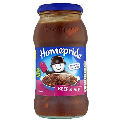 Beef Homepride y Ale Cooking Sauce 500g (paquete de 6 x 500 g)