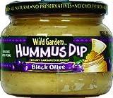 Wild Garden Hummus Dip - Black Olive - 13.4 oz