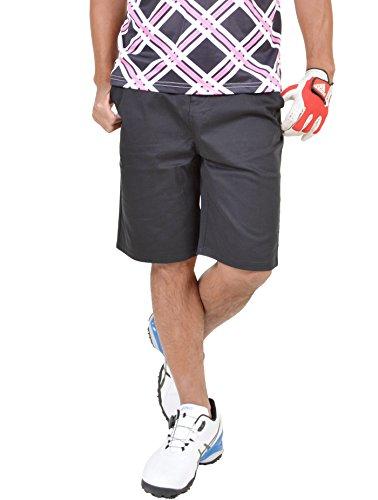 足首特異な羊飼い【コモンゴルフ】 COMON GOLF メンズ 接触冷感 ストレッチ ゴルフ ショート パンツ ST-18301