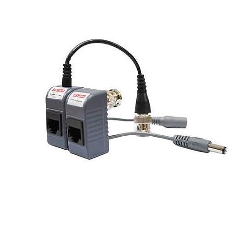 Amazon.com : Evertech 10 Pairs (20 Pcs) CCTV Video Power Balun BNC ...