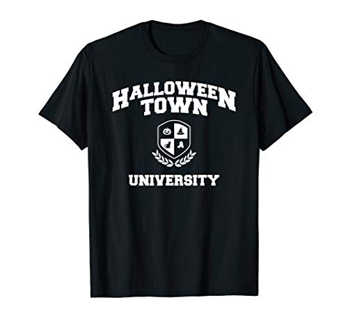 Halloween Town University T-Shirt Funny Halloweens Tee Gifts -