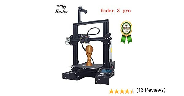 Impresora 3D Creality Ender 3 Pro, kit de montaje rápido de 220 ...