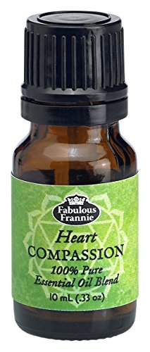 Fabulous Heart - 4th Chakra Heart Compassion Pure Essential Oil Blend undiluted .33oz (10ml)
