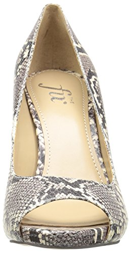 Fix Python Mushroom Women's Rosalee Peep The Stiletto Pump Print Platform Toe Dress wAaqAd6