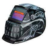 Solar Auto Darkening Welder Welding Helmet Head Shield Grinding Mask - Electrical Welding Tools Helmet Mask & Goggles - 1 x Solar Auto Darkening Welding Helmet