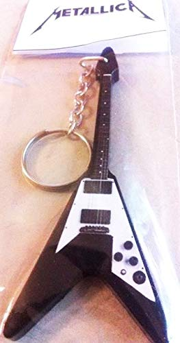 Llavero de guitarra Gibson Flying V Kirk Hammett Metallica ...