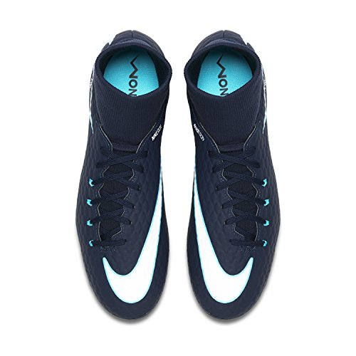 white Ag blue blue dark Hypervenom Phelon Football NIKE Boots Df 3 pro Men 's OqgOwTY7