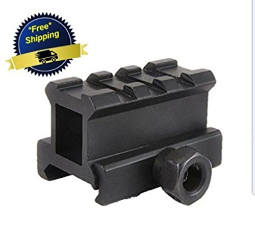 One Piece Flat Sewer Tape (Ar Picatinny Weaver Mount Scope Sight Riser High See Flat Top Rifle Rail 3)