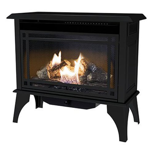 pleasant hearth propane fireplace - 3