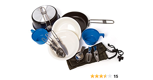 FRENDO 301502 - Set de Cocina para Senderismo
