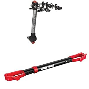 Yakima RidgeBack 4-Bike Hitch Rack and Yakima TubeTop Crossbar Adapter