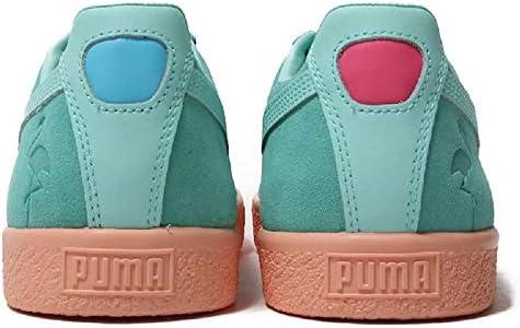 new concept 798dc 6605d PUMA Men's Clyde South Beach Green Size: 14 US: Amazon.com ...