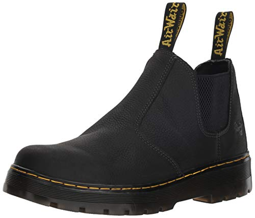Dr. Martens Men's Hardie Boot, Black, 10 Regular UK (11 US)