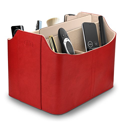 OTTO Leather Remote Control Organizer and Caddy with Tablet Slot (OTTO173) from OTTO Leather