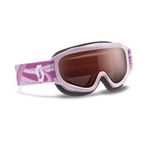 (Scott 2015/16 Youth Trooper Junior Winter Snow Goggles - 240137 (Pink - Amplifier Lens))