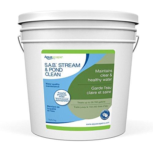 Aquascape 98896 SAB Stream & Pond Cleaner Water Treatment, 7-Pound, Liquid ()
