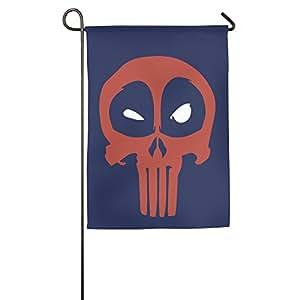 Deadpool de el Castigador decorativo colorido Mulitcolor casa bandera casa Banner