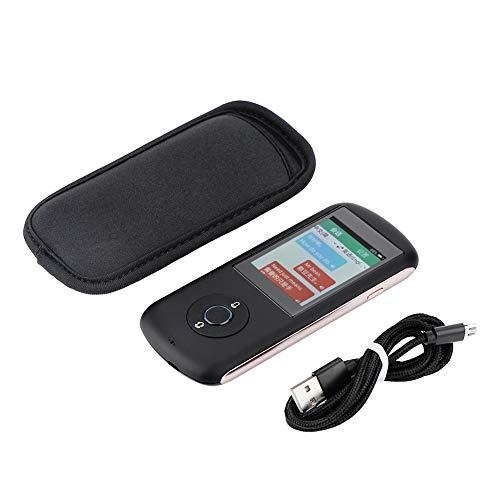 Aufee Translator, Intelligent 35 Countries Card WiFi Bluetooth Instant Translator Multiple Language Translator Language Translator(Black) from Aufee