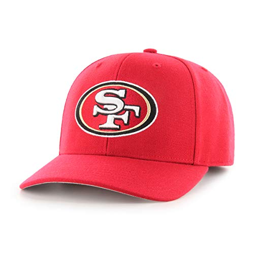 OTS NFL San Francisco 49Ers Male All-Star Dp Adjustable Hat, Red, One Size