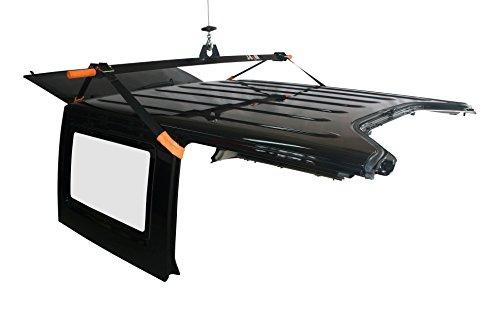 J-BARR: Jeep Wrangler Hardtop Removal and Storage System (4-DOOR Model (Full Kit)) Kit Hardtop