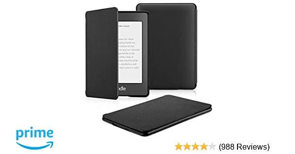 OMOTON Kindle Paperwhite Case (10th Generation-2018), Smart Shell Cover  with Auto Sleep Wake Feature for Kindle Paperwhite 10th Gen 2018