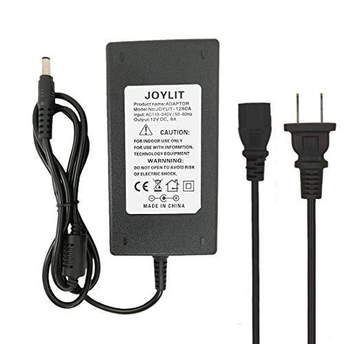 (JOYLIT AC 100-240V To DC 24V 4A 5.5x2.1mm DC Output Power Supply Converter Adapter for Led Light Strips)