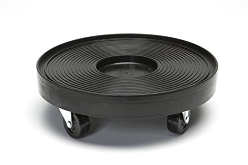 Devault 3012B Plant Dolly, Black, 12-Inch (Palm Tree Room Roll)
