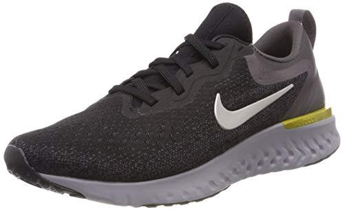 Nike Mens Odyssey React Running Shoes Black/Metallic/Grey/Atmos Grey 7