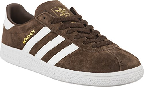 Mens Brown Munchen Trainers Dark Adidas Suede CxTwdq8XdY