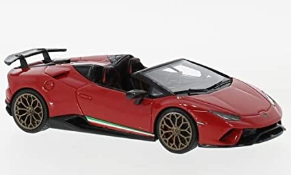 Amazon Com Lamborghini Huracan Performante Spyder Red 0 Model