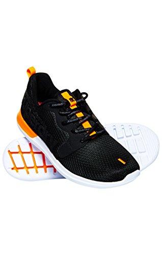 Superdry Herren Hyper Core Runner Fitnessschuhe Nero (Black)