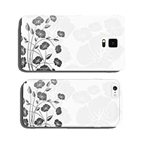 Decoration flowers (white background) cell phone cover case iPhone6