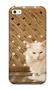 Vicky C. Parker's Shop Little White Kitty Feeling Iphone 5c On Your Style Birthday Gift Cover Case 9130253K66228221