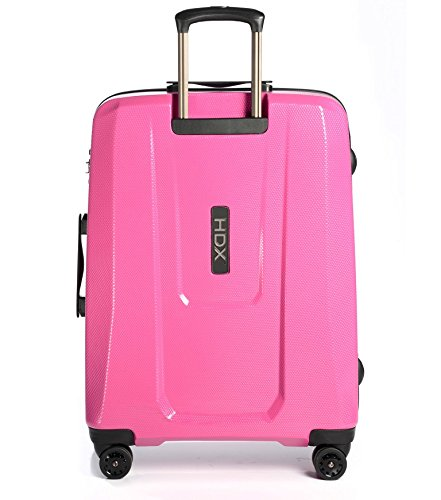 EPIC Travelgear Unisex HDX EX 25'' Trolley Gloss Pink Luggage