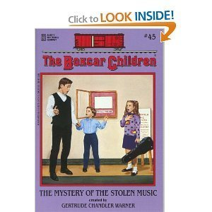 The Mystery of the Stolen Music - Book #45 of the Boxcar Children