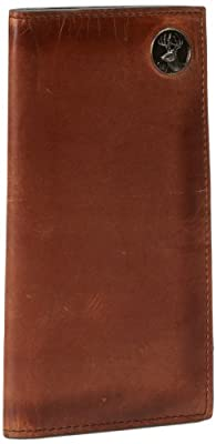 Weber's Leathers Men's Brown Pocket Secretary with Buck Concho